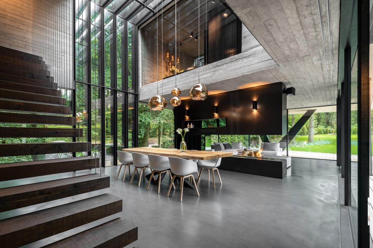 Интерьер современный дом